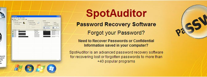 Password Recovery Software for windows and MAC