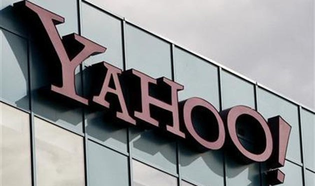 Malicious advertisements served via Yahoo